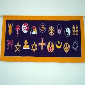 símbolos inter-religiosidade