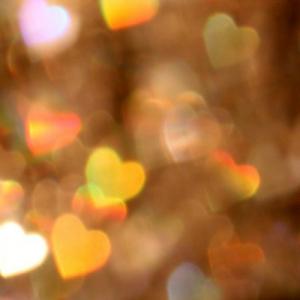luzes em forma de coração