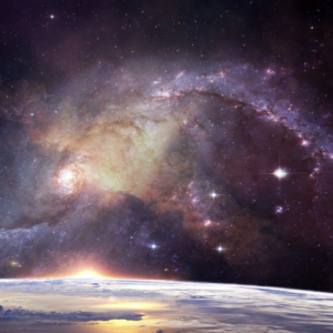 earth and outer space