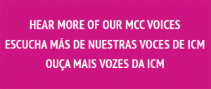 Hear more of our MCC voices