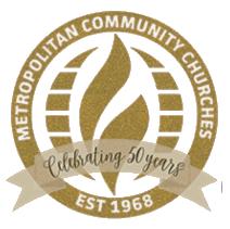 MCC church 50 years logo