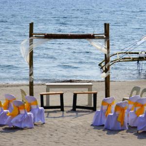 wedding on Philippines beach