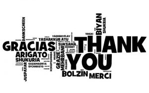 """""""thanks"""" in different languages"""