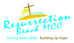 Resurrection Beach MCC logo