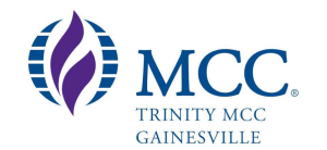 Trinity of MCC Gainesville logo
