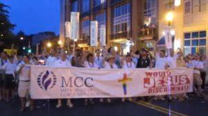 Click above to see MCC of Washington DC at Pride